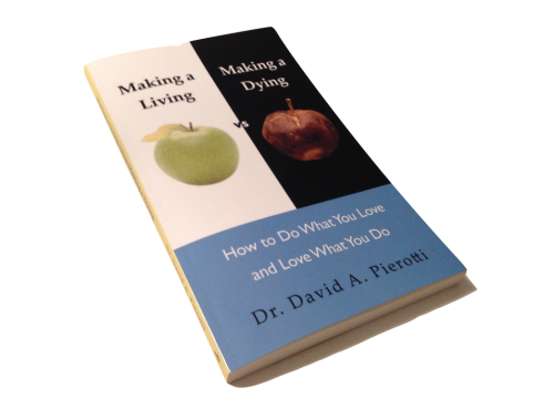 58454638a3b Dr David – Book – Making a Living vs Making a Dying